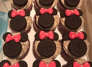 Oreo Mini Mouse Cupcakes