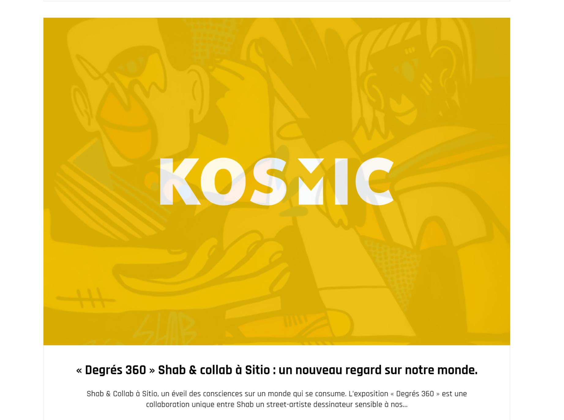 KOSMIC WEBZINE