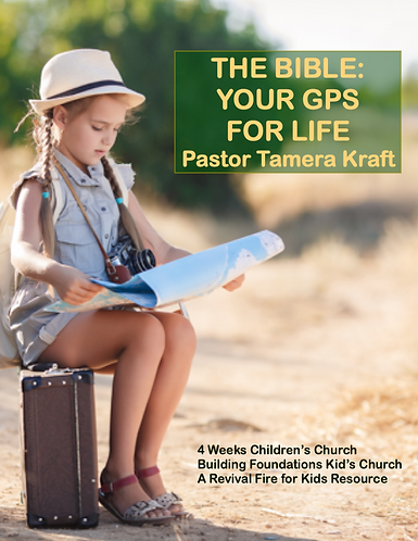 The Bible: Your GPS For Life - 4 Weeks Children's Church