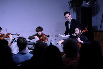Phaedra Ensemble playing David Lang