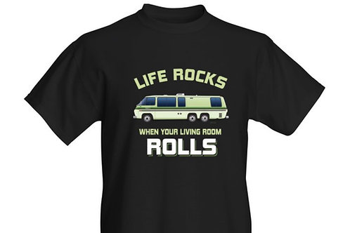 """Life Rocks"" Palm Beach T-shirt Adult"