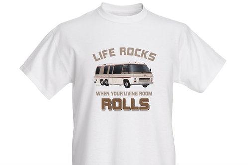"""Life Rocks"" T-shirt Kids"