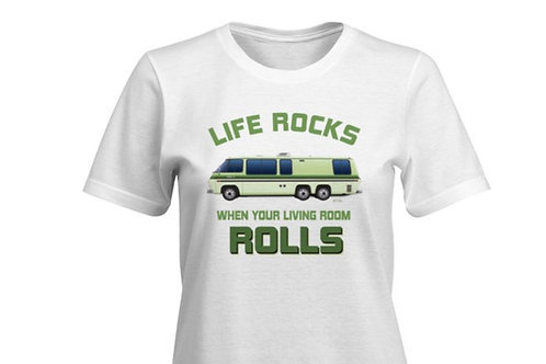 """""""Life Rocks"""" PalmBeach T-shirt Ladies"""