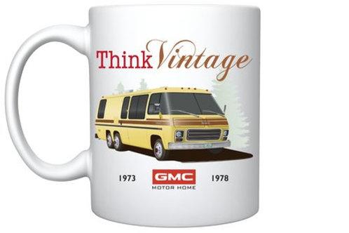 "Think Vintage ""Eleganza"" Mug"