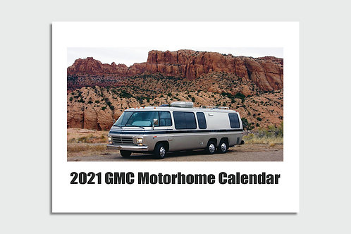 2021 GMC Motorhome Community Wall Calendar