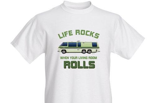 """Life Rocks"" Palm Beach T-shirt Kids"