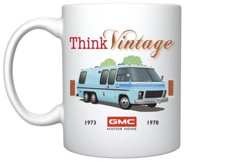 "Think Vintage ""Glacier"" Mug"