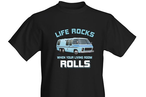 """Life Rocks"" Glacier T-shirt Kids"