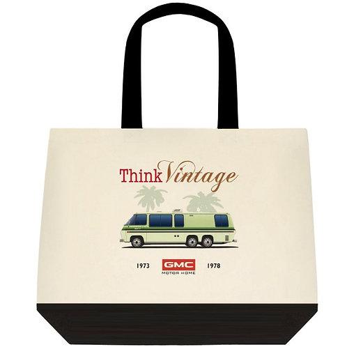 "Think Vintage ""Palm Beach"" Tote Bag"