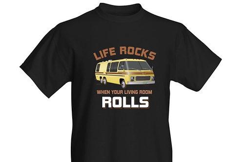 """Life Rocks"" Eleganza II T-shirt Adult"