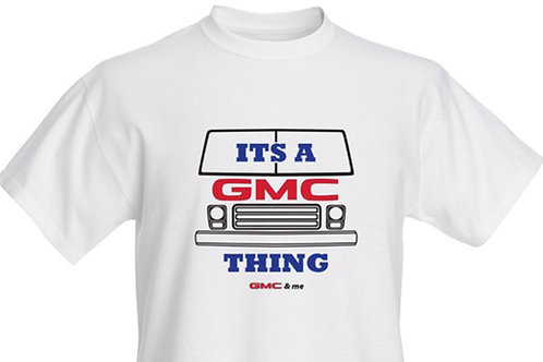 Its a GMC Thing T-shirt Adult
