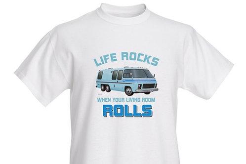 """Life Rocks"" Glacier T-shirt Kids"
