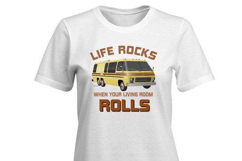 """Life Rocks"" Eleganza II T-shirt Ladies"