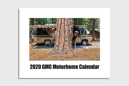 2020 GMC Motorhome Community Wall Calendar