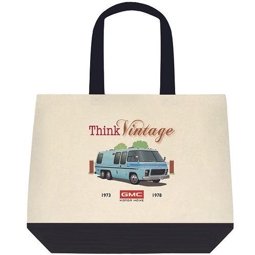 """Think Vintage """"Glacier"""" Tote Bag"""