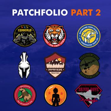 Pathfolio   Patch design