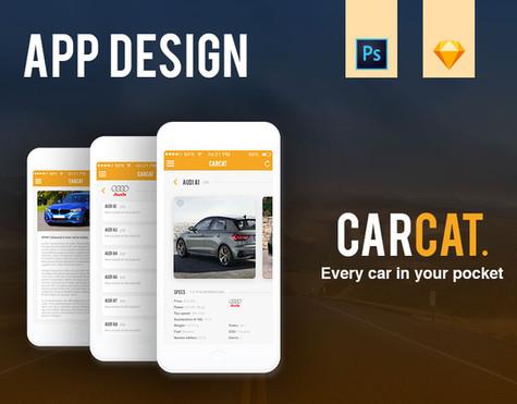 CarCat   Car app UX/UI Design