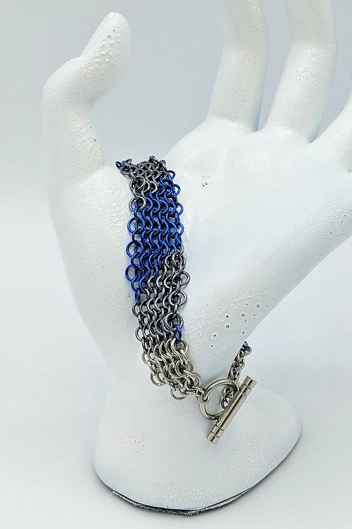 Mesh Toggle Bracelet