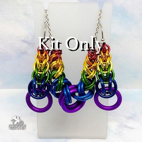 Kit - Rainbow SWR Slider and/or FP Earrings