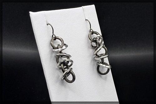 Floating Orbits Earrings