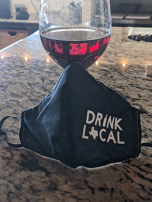 Drink local face mask