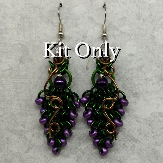 Kit - Grape Vine Earrings