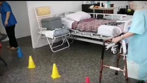 Angsana Old Folks Home and Nursing Home rehabiltation