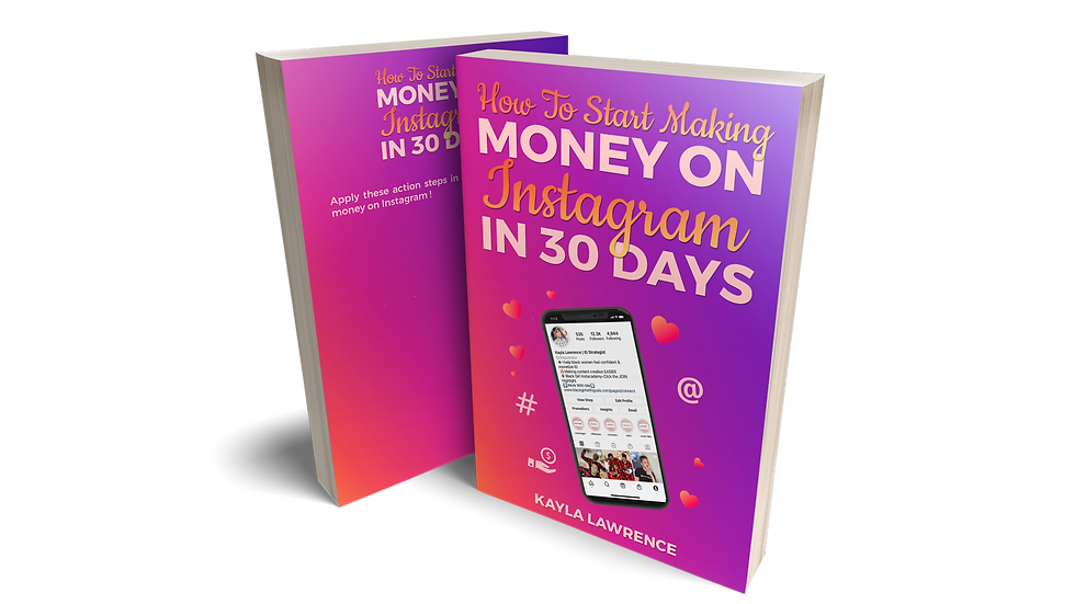 How To Start Making Money On IG In 30 Days
