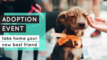 Adoption event template