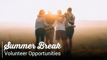 Summer break volunteer template