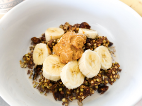 Chocolate Peanut Butter Buckwheat Porridge