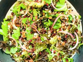 Pomegranate & Pecan Salad
