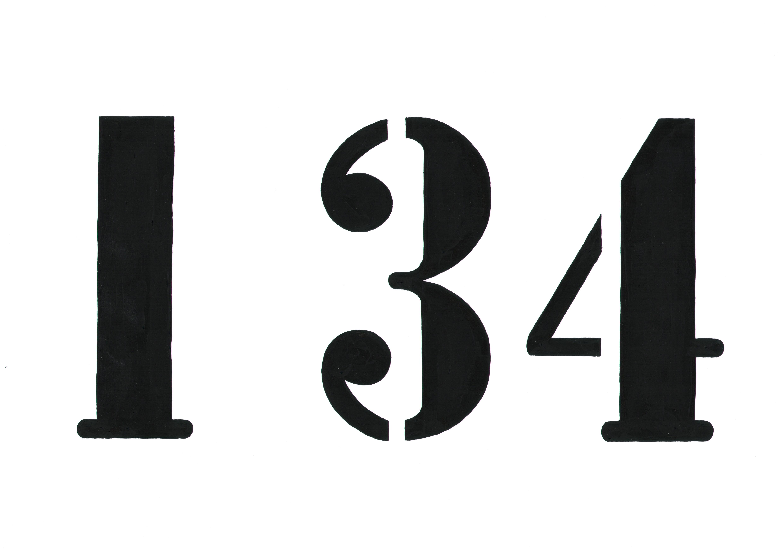 Number 134