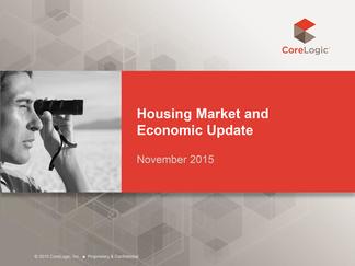 Housing Market and  Economic Update November 2015