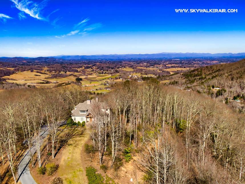 Asheville Real Estate Aerial Photo - Sky