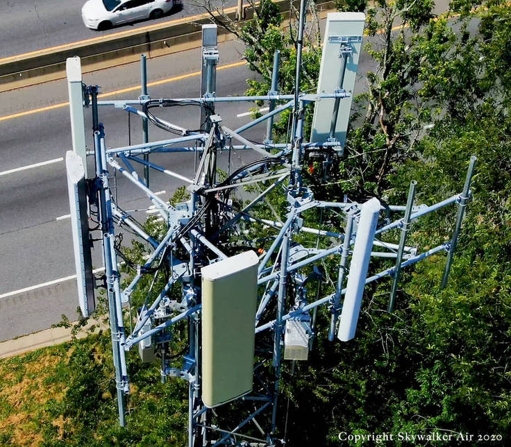 Communications Tower 1 - Asheville Drone