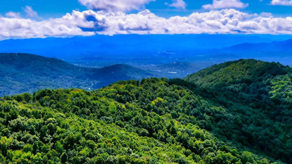 Asheville Aerial Photo - Buzzard Rock.jp