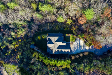Asheville Aerial Real Estate Drone Photo