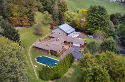 Asheville Drone Real Estate Photography - 1505 Laurel Valley Rd Mars Hill NC