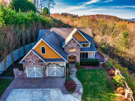 Asheville Real Estate - aerial photography