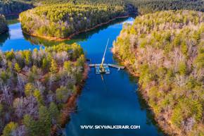 Lake James State Park Visitor Center - Bridge From South East  2 - Skywalker Air .jpg