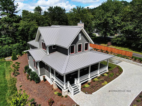 Asheville Real Estate Drone Photography - Skywalker Air