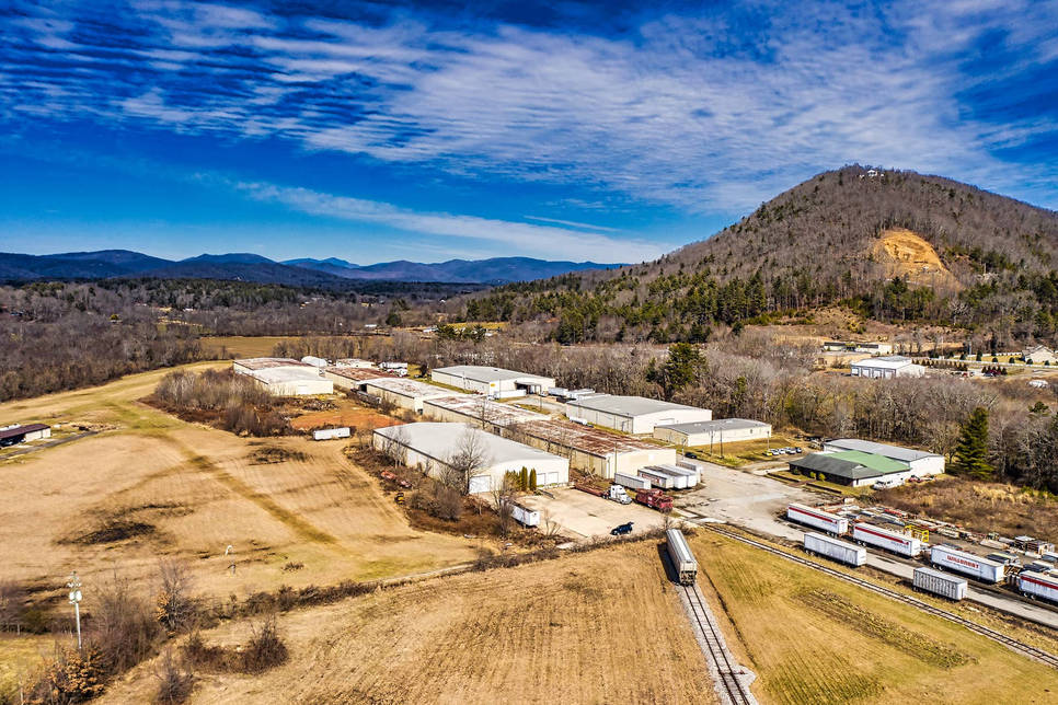 Asheville Commercial Drone Photo - Skywa