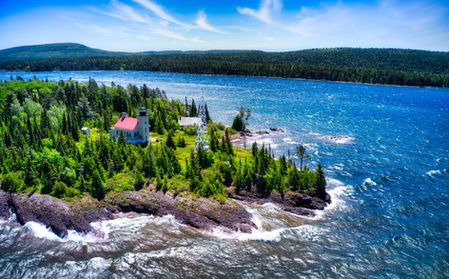 Eagle Harbor - Drone Photography by Skywalker Air