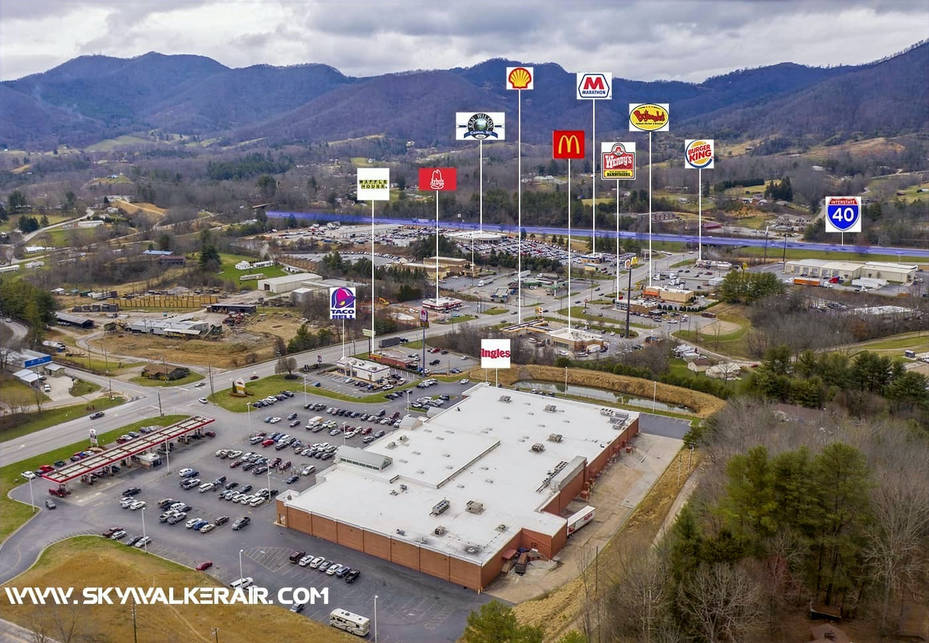 Commercial Property in Canton NC - Skywalker Air