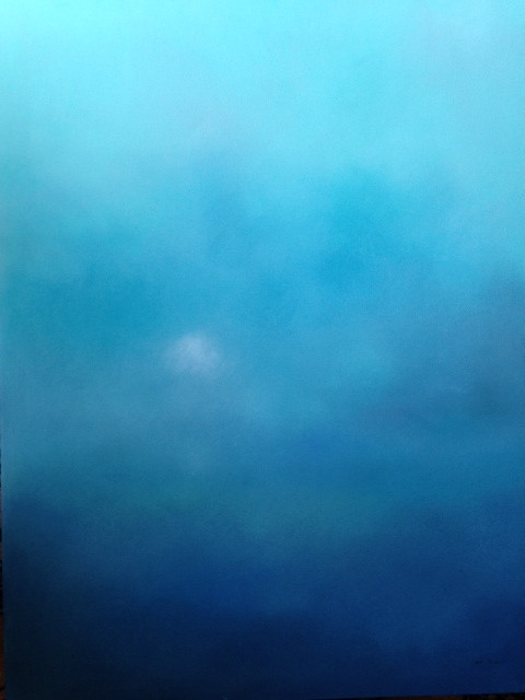 THIS IS ONE OF MANY ABSTRACT PASTELS THAT I DID WHILE WRITING WHITE ROSES.  BLUE IS HIS FAVORITE COLOR.