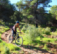 Mountain bike holiday spin Malaga enduro winter training trail riding