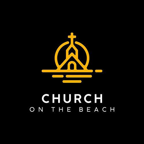 Church ont sunset beach