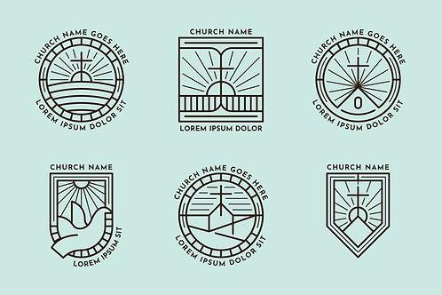 Bộ Sưu Tập Logo Church