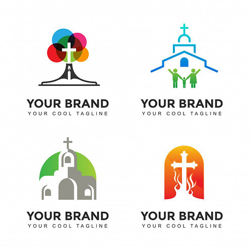 4 mẫu logo catholic